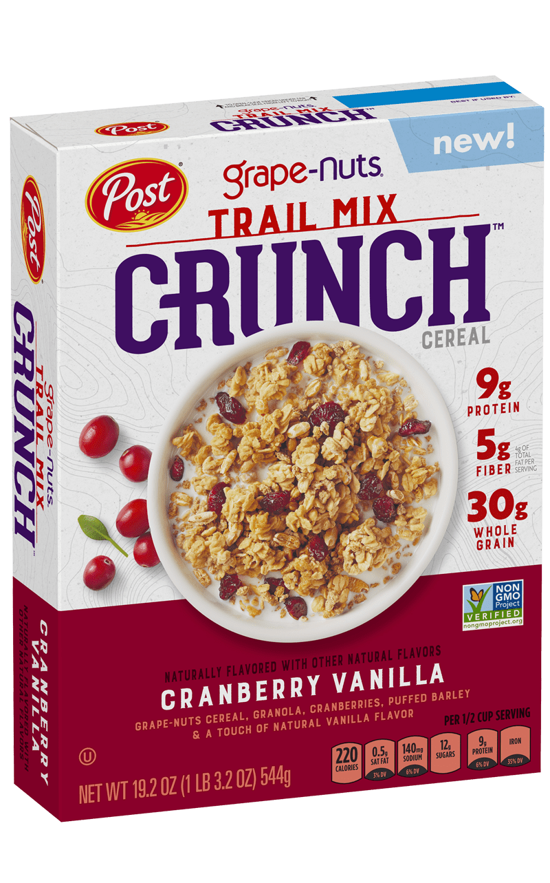 Box of Grape-Nuts Trail Mix Crunch